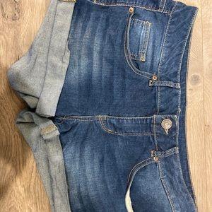 Kohl's (SO brand) denim shorts